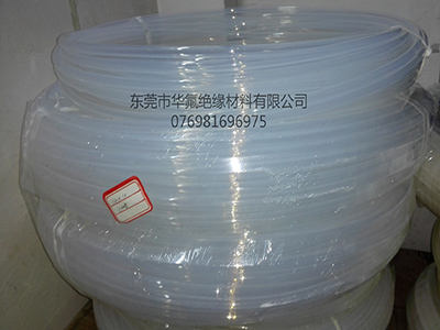 Poly FEP transparent tube processing
